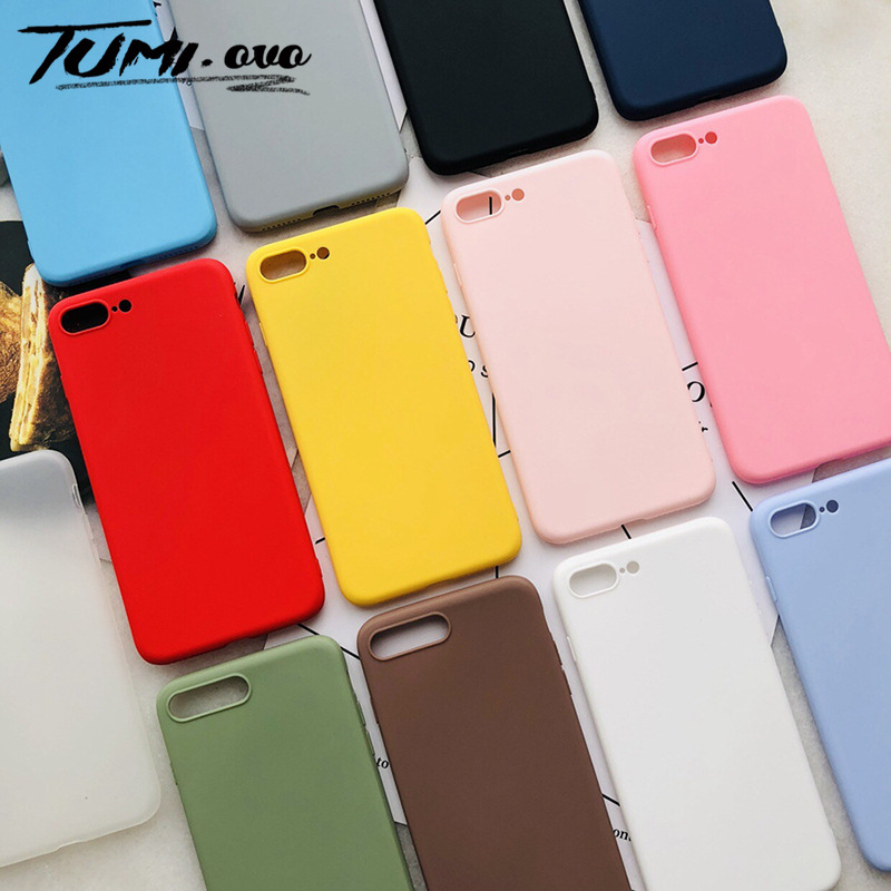 New Candy Soft <font><b>Silicone</b></font> <font><b>Case</b></font> for <font><b>Samsung</b></font> Galaxy A10 A10S A20 A30 A30S A40 A50 <font><b>A70</b></font> A80 S8 S9 S10 Plus S10E A6 A7 2018 Soft Cover image