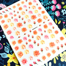 Newest Flower series nail sticker 3d nail art sticker nail decal stamping export japan designs rhinestones newest haxx 49 50 51 3d nail art sticker back glue nail decal stamping japan type nail decoration tools