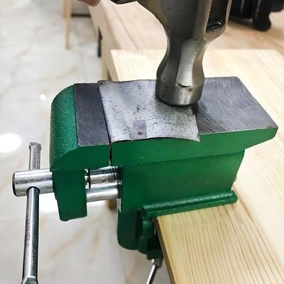 mesa uso vise multifuncional casa usando ferramentas manuais