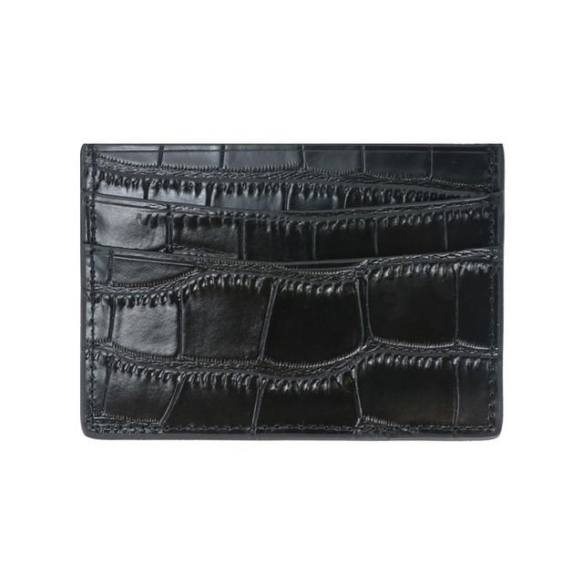Classic Crocodile Pattern Wallet