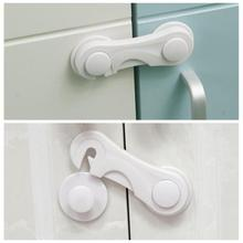 1/4/10Pcs Baby Drawer Lock Child Kid Box Drawer With Two colors Cupboard Cabinet Wardrobe Door Fridge Safety Lock HOT Sale