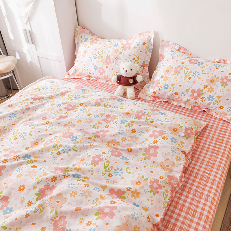 OXYGEN Cotton Bedding article Duvet cover 220x240 Double Queen King Size Bed Linen Bedding 2 persons sheet set For home