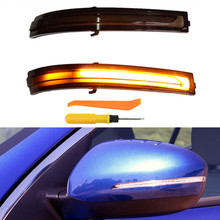 цена на LED Turn Signal Light For Kia Optima K5 TF 2011 2012 2013 2014 2015 Dynamic Side Wing Mirror Indicator Sequential Blinker
