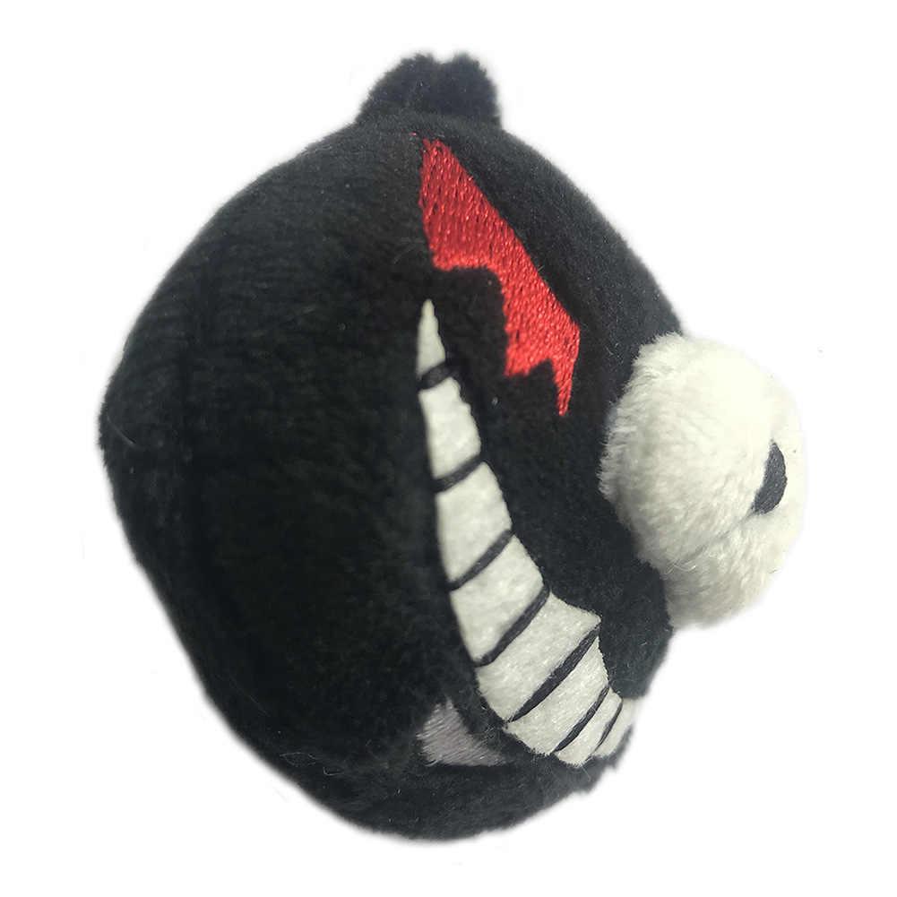 Anime Danganronpa Monokuma Cosplay Headwear 화이트 블랙 베어 수 놓은 머리띠 Hairclips 에노시마 Junko 헤어 액세서리