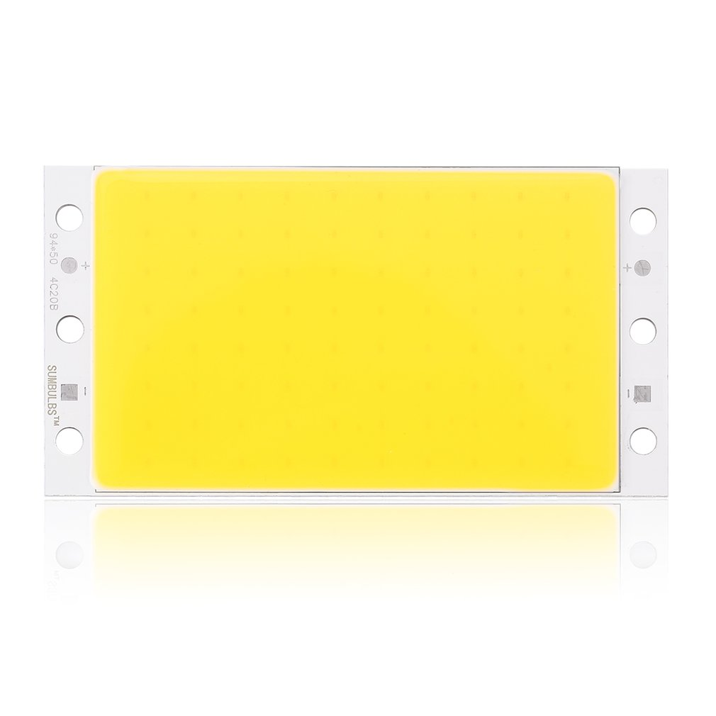12V-14V 16W LED Light Strip 94*50mm Module Four Lights Colors Optional COB Bar DIY Light Kit