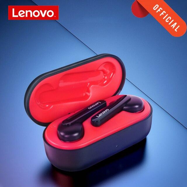 Lenovo Headphone TWS True Wireless Earphone Bluetooth 5.0 Deep Bass Earbuds HD Stereo HIFI Noise Reduction Headset Touch Button