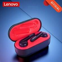 Lenovo kulaklık kulaklık TWS gerçek kablosuz kulaklık Bluetooth 5.0 derin bas kulaklık HD Stereo HIFI gürültü azaltma kulaklık dokunmatik düğme