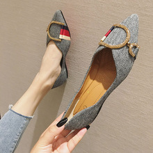 Women Shoe Spring Pointed-Toe Comfortable Autumn Ladies Brand Casual Zapatos-De-Mujer