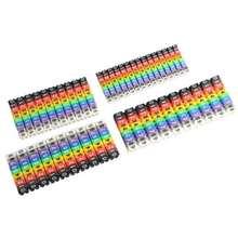 Цветной цифровой трубчатый провод 0 9 цифр кодированный на пластиковом