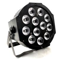 LED Par 12x12W RGBW 12x18W RGBWA UV HOT light rgbwa uv 4in1 6in1 LED DJ Wash Light Stage lighting