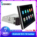 ISINBOX 1Din Car Radio Android Multimedia Player 4G/WIFI 30° Rotatable 10