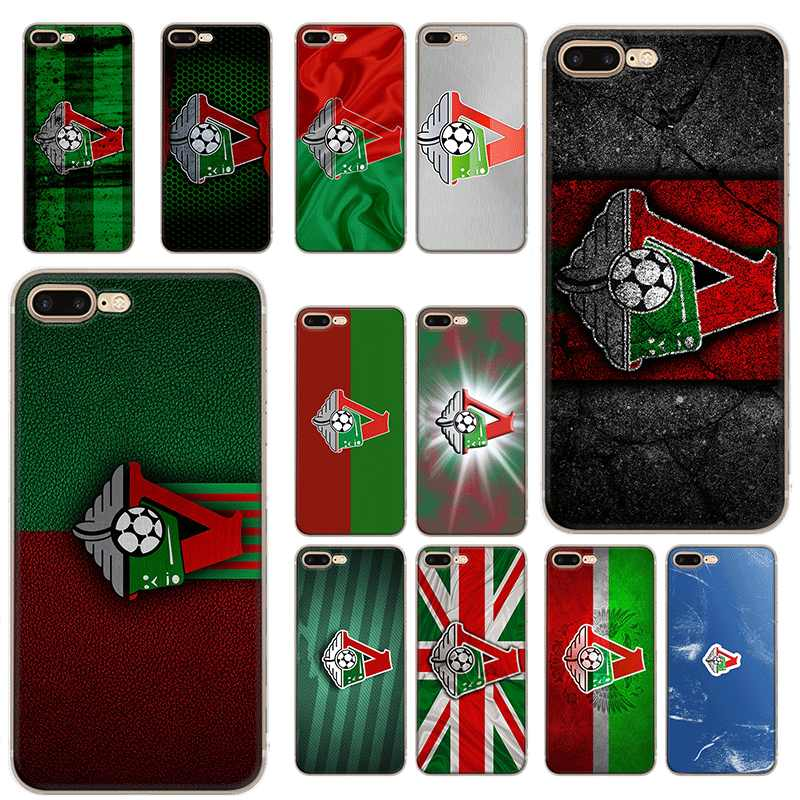 Mobile Phone Case For iPhone 6 6s 7 8 P Lus XR X XS Max 5 5S SE Hard Cover Moscow Football Club Logo Shell Protection