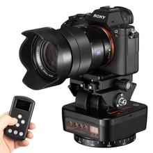 ZIFON YT 1000หมุนมอเตอร์ Panoramic Head อัตโนมัติขาตั้งกล้อง Stabilizer รีโมทคอนโทรลสำหรับโทรศัพท์วิดีโอสด