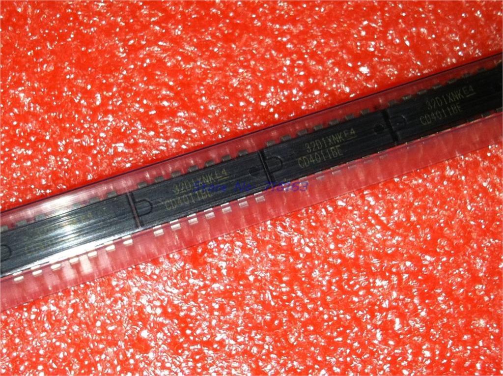 10pcs/lot CD4011BE TC4011BP CD4011 TC4011 DIP-14 In Stock
