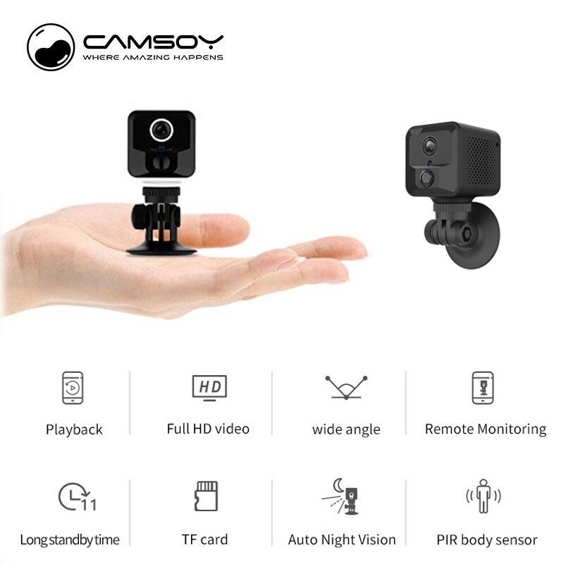Wi-Fi Micro Home Wireless Video CCTV Mini Security Surveillance With Wifi IP Camera Cam Wi Fi Camara For Phone Indoor IPcamera