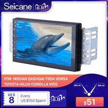 Автомобильный мультимедийный плеер Seicane, универсальная система на Android 9,1, с 7