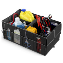 AUTOYOUTH-organizador de almacenamiento de maletero, 3 compartimentos, para Ford Focus, Kuga, Fiesta, Mitsubishi