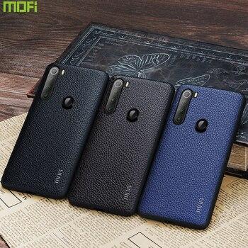 Redmi Note 8 Pro Case Mofi For Xiaomi Redmi Note 8T Case Cover Business Protector Glove For Xiaomi Redmi Note 8 Case Leather Red