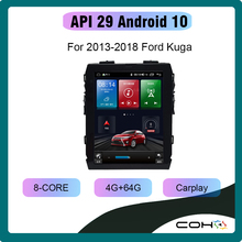 Coho para 2013 2018 ford kuga android10.0 tesla 9.7 Polegada octa núcleo 4g + 64g receptor estéreo rádio do carro