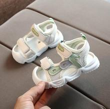 Summer Sandals Girls Leather Shoes Fashion Toddler Boys Beach Sandals Colorful Children Baby Shoes Kids Sandals For Boys Girls free shipping 2020 children s sandals summer new boys sneakers girls sandals for girl