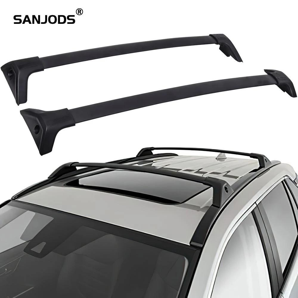 sanjods roof rack crossbar fit for 2019 2020 toyota rav4 rav 4 2pcs aluminum roof rack for car top luggage carrier rails