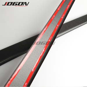 Image 5 - Matte & Glossy Carbon For Tesla Model 3 2017  2020 Car Central Console Side Panel Trim Decoration Anti scratch