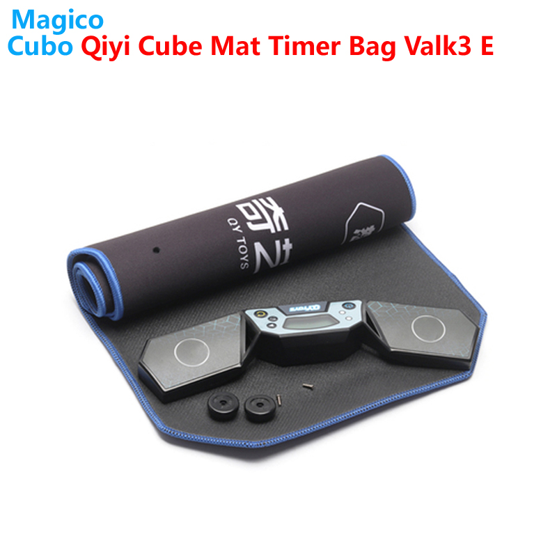 Qiyi Mofangge Cube Set Pad Mat Timer Valk3 Elite M Magic Cubes 2x2 3x3 4x4 5x5 6x6 7x7 Bag Speed Educational Games for Kids Cube