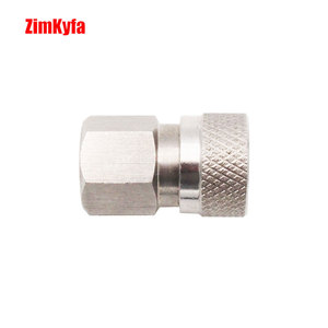 Image 2 - Paintball PCP Air Gun Rifle Quick Disconnect Filling Charing Hose Fitting 8mm Stainless Female Socket Connector NPT/BSP/M10