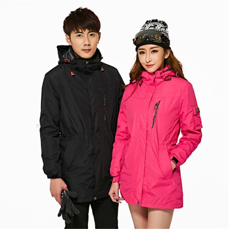SNOW Women Ski Clothing Skiing Jacket Snowboard Coat Windproof Waterproof Outdoor Sport Wear Female Winter Coat