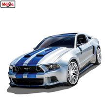 Maisto 1:24 Ford Mustang Series simulation alloy car model crafts decoration collection toy tools gift