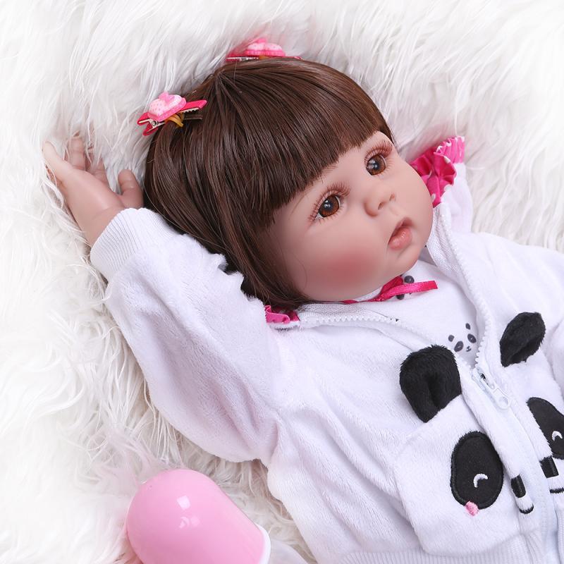 NPK New Style Full Body Silica Gel 48 Centimeter Cute Baby Cute GIRL'S Baby-Water Bath
