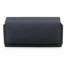 الأفقي المزدوج الهاتف الحافظة الحقيبة حالة لمدة الهواتف ، النايلون مزدوجة ديكر حزام كليب حالة ل فون 11 برو/XS ، فون XR
