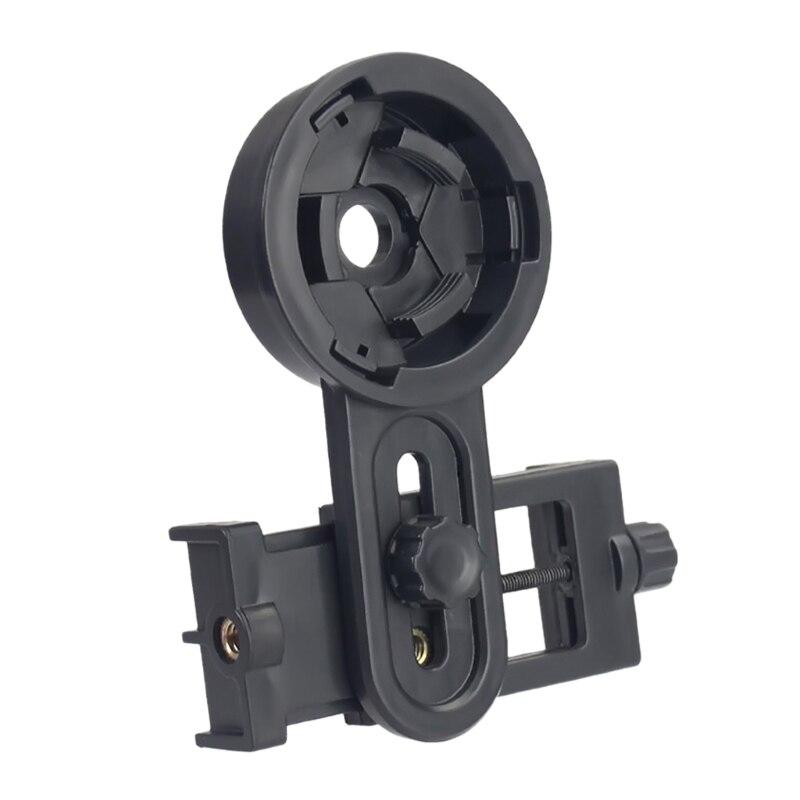 Binóculos tripé adaptador telescópio clipe de montagem para iphone e android smartphones
