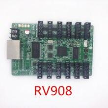 Rv908m linsn cor cheia display led cartão de recepção rv908 (versão avançada de rv908t's, vem com portas hub75)