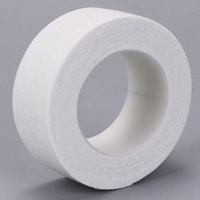 2cm*5m Medical Tape Adhesive Plaster Gauze Fixation Tape First Aid Supplies Wound Dressing Breathable Cotton Cloth Tapes