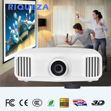Riqueza x8000 projetor de cinema em casa 3d beamer para a escola portátil negócios 1080 p projetor hd completo android 4 k 3lcd