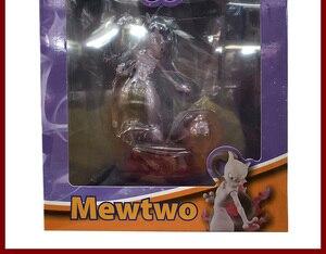 Image 5 - Gengar Mewtwo Аниме фигурки героев мультфильмов Коллекция Модель игрушки украшение автомобиля игрушки pks