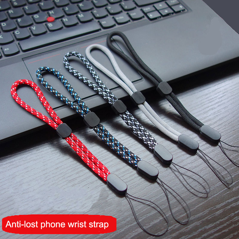 1-5 PCS 17 Cm Adjustable Hand Wrist Lanyard Strap String For Mobile Phone Keys Keychains USB Flash Drives U Disk Camera AirPods