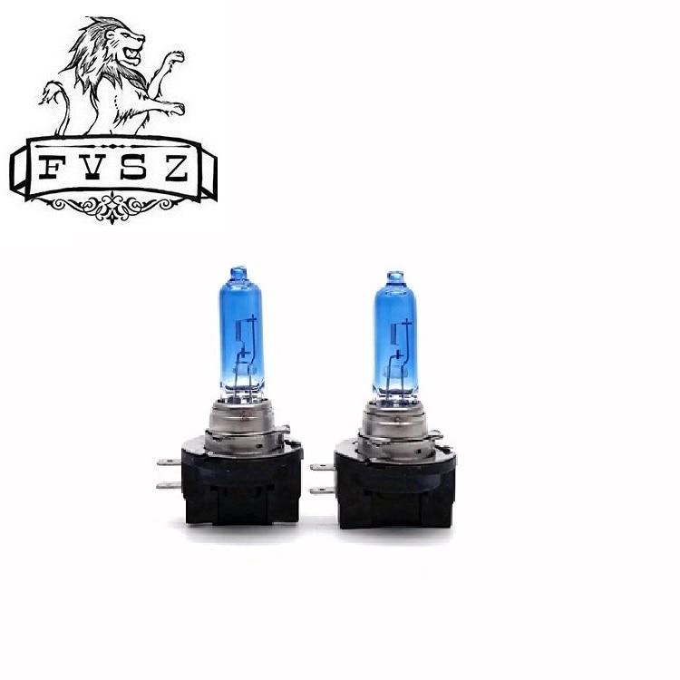 2 шт. H11B 12 В 55 Вт Автомобильные галогенные фары противотуманные лампы PGJY192 противотуманный светильник белая лампа замена Универсальный