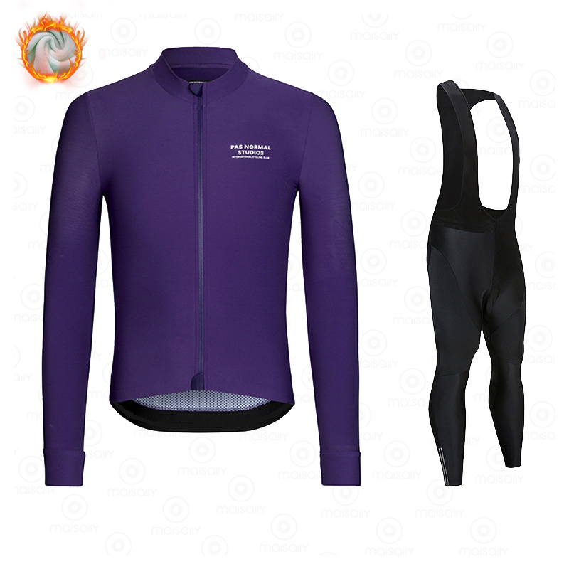 New Winter Fleece 2021 PNS Pro Man Cycling Jersey Mountian Bicycle Clothes Wear Ropa Ciclismo Racing Bike Clothing Cycling suit 4