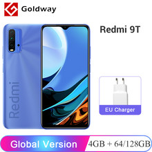 Versão global xiaomi redmi 9t 9 t 4gb ram 64gb/128gb rom telefone móvel snapdragon 662 octa núcleo 48mp quad câmera 6.53