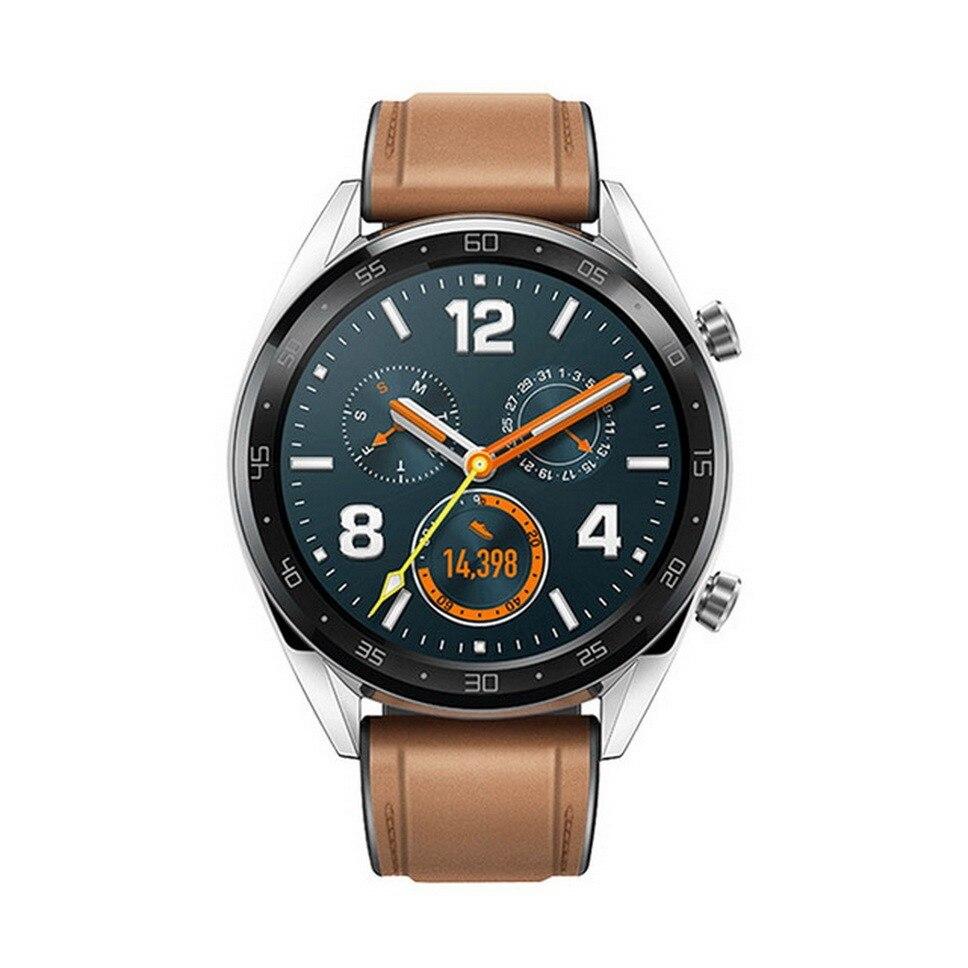 Reloj inteligente Original Global HUAWEI GT resistente al agua con rastreador de frecuencia cardíaca GPS hombre rastreador deportivo reloj inteligente para Android IOS - 6