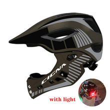Шлем детский с полным покрытием защитный шлем для езды на мотоцикле