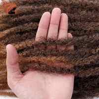 Frühling sonnenschein Häkeln Zöpfe Haar Ombre Afro Kinki Weiche Synthetische Marley Flechten Haar Häkeln Haar Extensions Groß