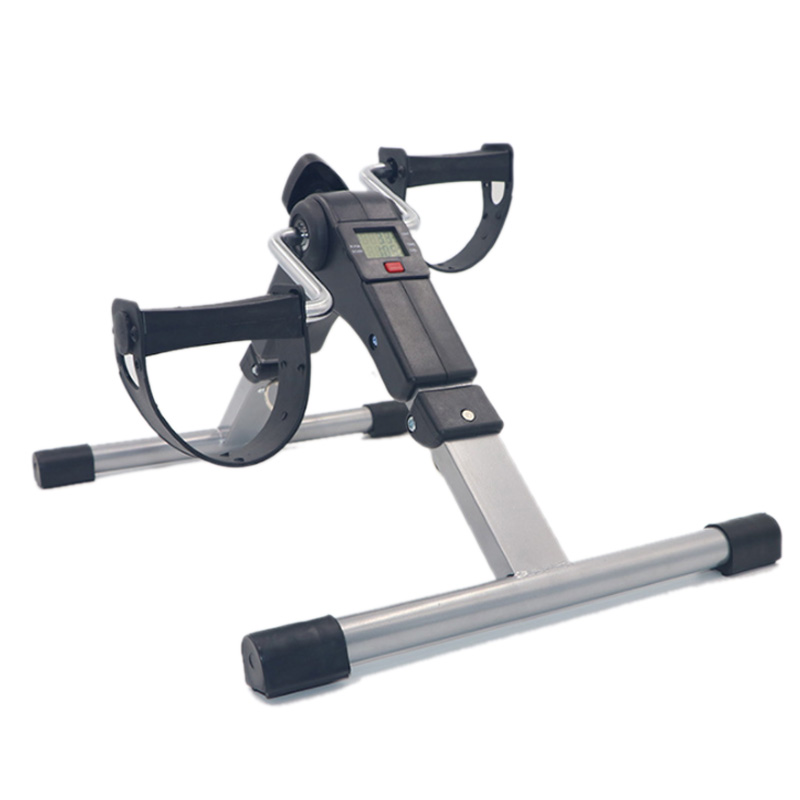 Lightweight Portable Indoor Cycling Bikes Folding Bike Pedal Exerciser Fitness Equipments Bodybuilding with Computer Display