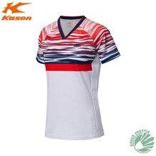 Подлинный касон бадминтон рубашки функциональная Джерси FAYM021 Мужская и женская футболка с коротким рукавом