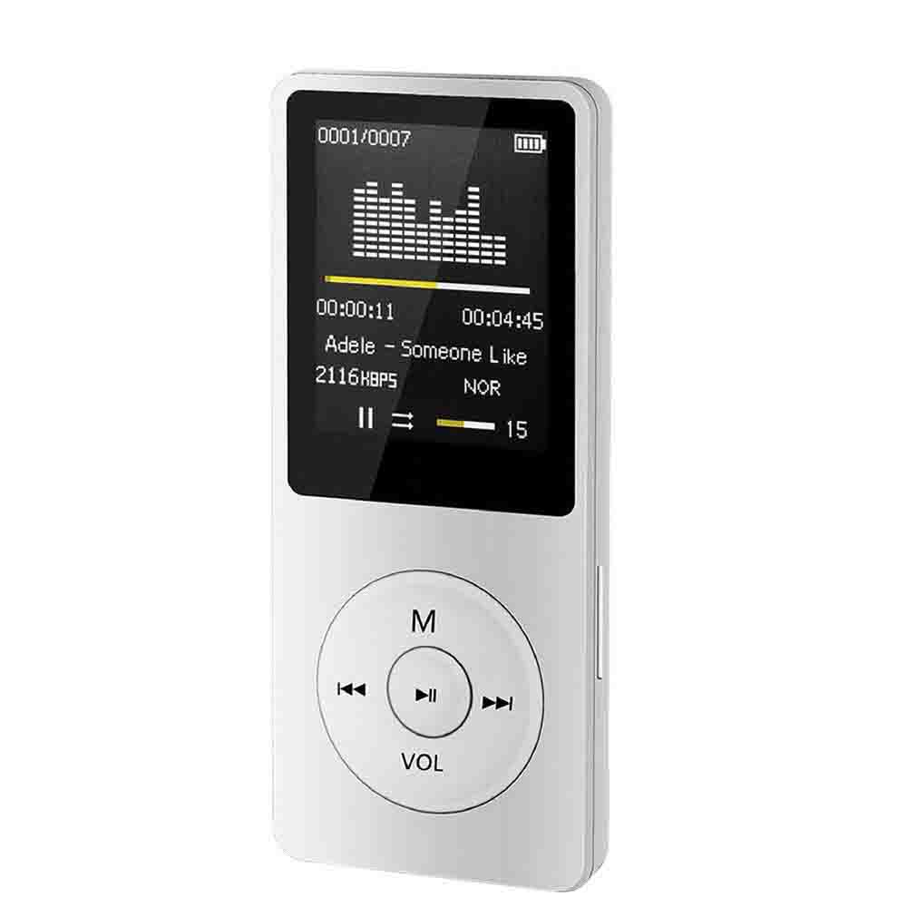 Radio MP4 Player Microphone 180mAh Video Movie Slim 1.8 TFT Mini MP3 FM High Quality Durable Practical image