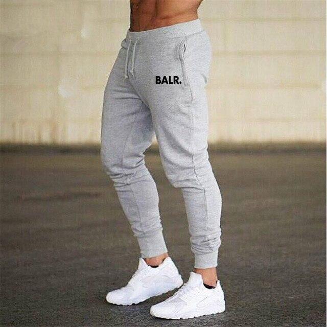 Hot Sales BALR Athletic Pants Men's Trousers Sweatpants Sports Running Casual Trousers Drawstring Top Skinny Pants 4
