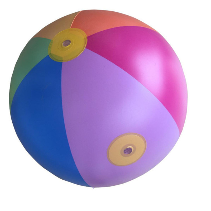 Clearance SaleAutomatic Induction Inflatable Water ball fight beach Ball children Grass inflatable ball play water Ball Kids Outdoor Toys