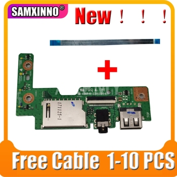 SAMXINNO FOR Asus VivoBook X542 X542B X542BP X542U X542UQ X542UF X542UN USB Audio usb board Cable test good image